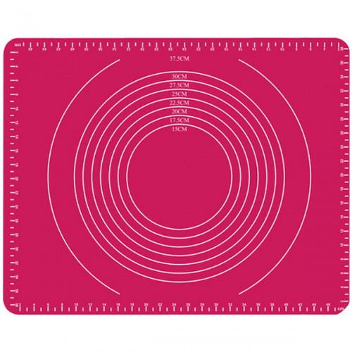 Силиконовый противень-коврик для теста 49х39.5см с разметкой