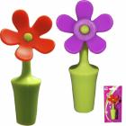 Стопер (пробка) для пляшки Квітка силіконова