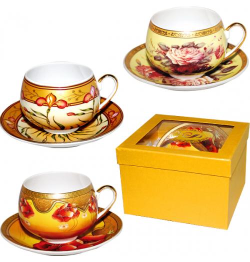 Набор чайный Silva Barrel Gold 280мл 2 предмета