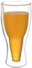 Стакан «Beer Bottle» 350мл с двойными стенками, стеклянная термокружка