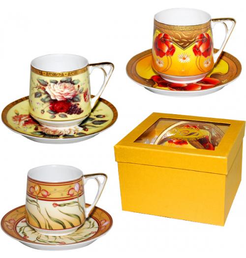 Набор чайный Silva Cup Gold 220мл 2 предмета