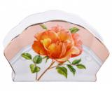 """Підставка для серветок """"Китайська Роза"""" серветниця"""