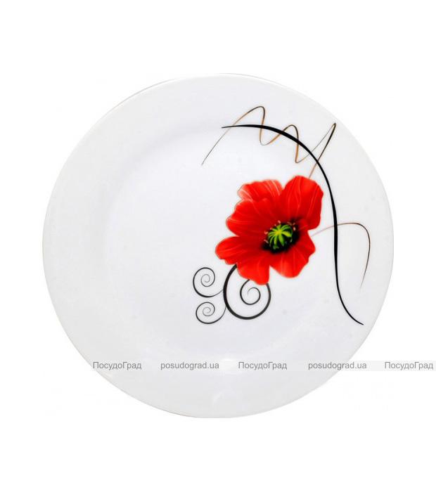 """Набор 6 десертных тарелок """"Мак"""" Ø17.5см"""