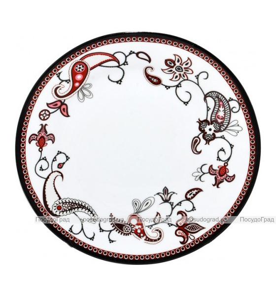 """Набор 6 мелких тарелок """"Орнамент"""" Ø20,5см"""