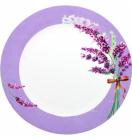 "Набор 6 мелких тарелок ""Лаванда"" Ø23см"