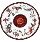 """Набор 6 мелких тарелок """"Орнамент"""" Ø23см"""