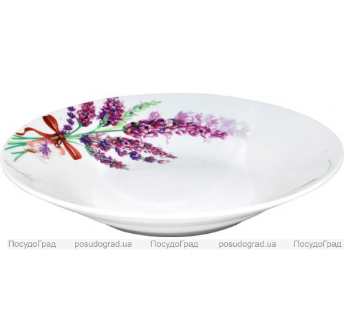 "Набор 6 суповых тарелок ""Лаванда"" Ø20,5см"