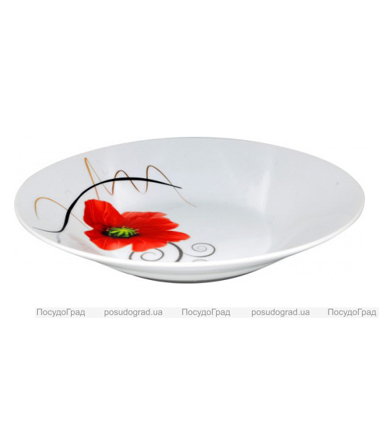 "Набор 6 суповых тарелок ""Мак"" Ø20.5см"
