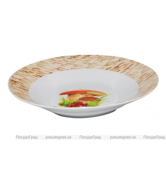 "Набор 6 суповых тарелок ""Грибочки"" Ø20.5см"