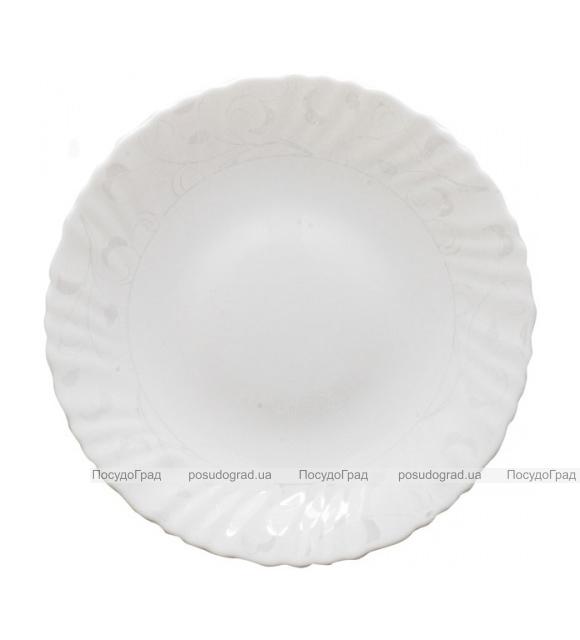"""Обеденная тарелка """"Глазурь"""" Ø19см, стеклокерамика"""