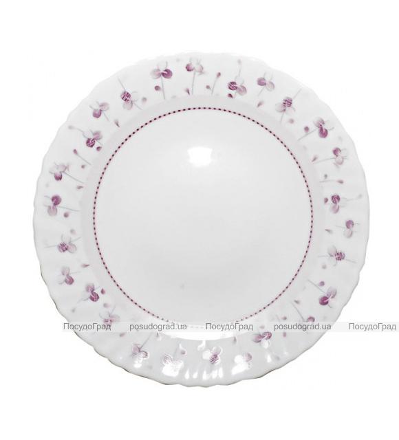 """Набор 6 десертных тарелок """"Нежный луг"""" Ø19см, стеклокерамика"""