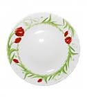 Десертная тарелка Тюльпан Ø19см, стеклокерамика