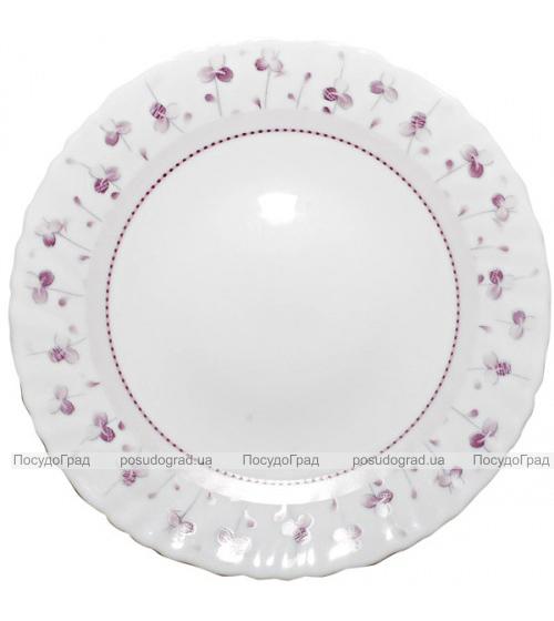 "Набор 6 обеденных тарелок ""Нежный луг"" Ø24см, стеклокерамика"