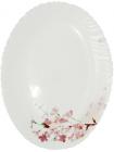 Блюдо овальное Ветка Сакуры 35.5см, стеклокерамика