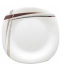 """Подставная тарелка """"Элеганс"""" Ø29см, стеклокерамика"""