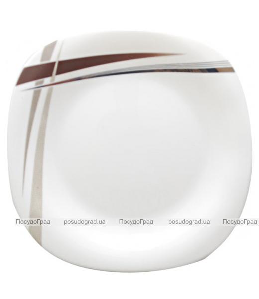 """Набор 6 подставных тарелок """"Элеганс"""" Ø29см, стеклокерамика"""