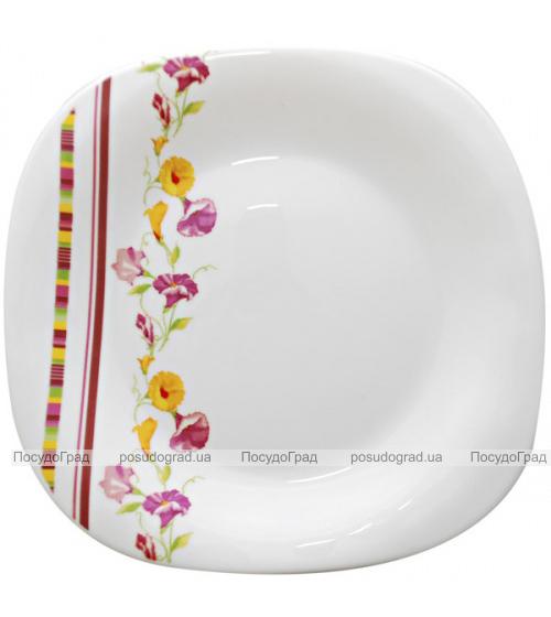 """Набор 6 подставных тарелок """"Вьюнок"""" Ø29см, стеклокерамика"""