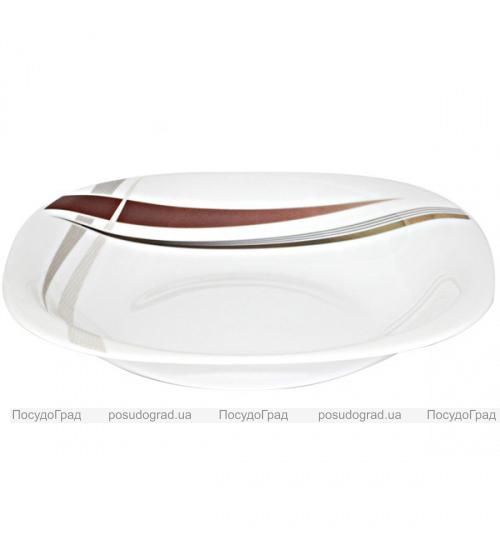 """Набор 6 тарелок для первого """"Элеганс"""" Ø23см, стеклокерамика"""