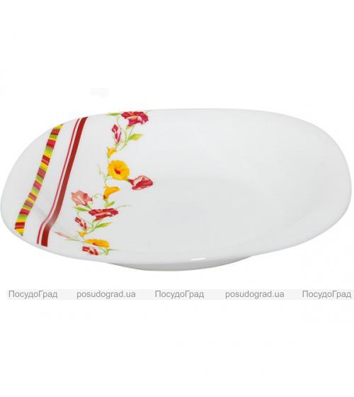 "Набор 6 тарелок для первого ""Вьюнок"" Ø23см, стеклокерамика"