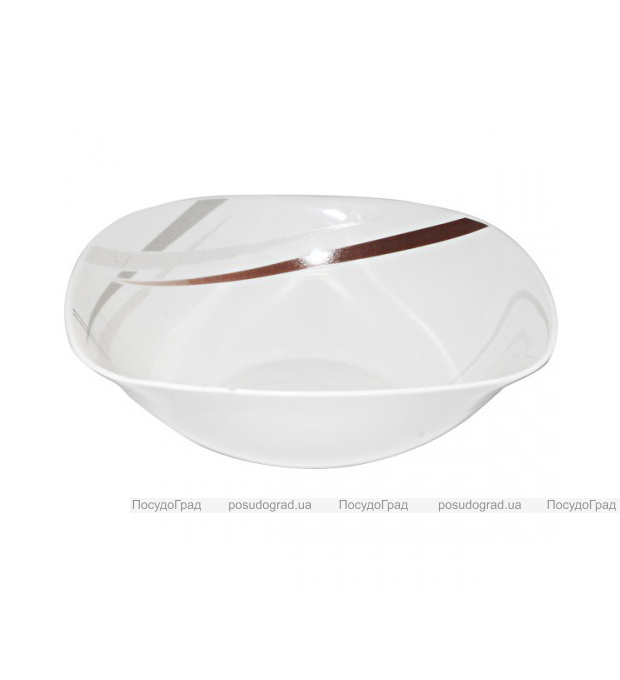 "Пиала (салатница) ""Элеганс"" Ø12.5см, стеклокерамика"