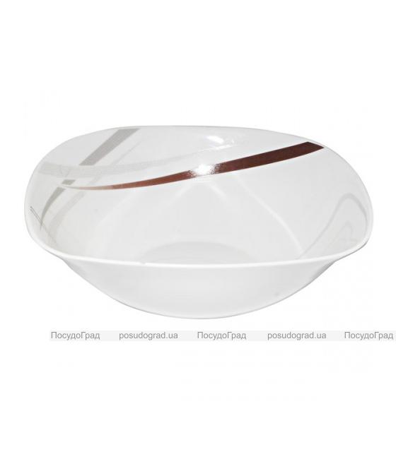 """Набор 6 салатников """"Элеганс"""" Ø16.5см, стеклокерамика"""
