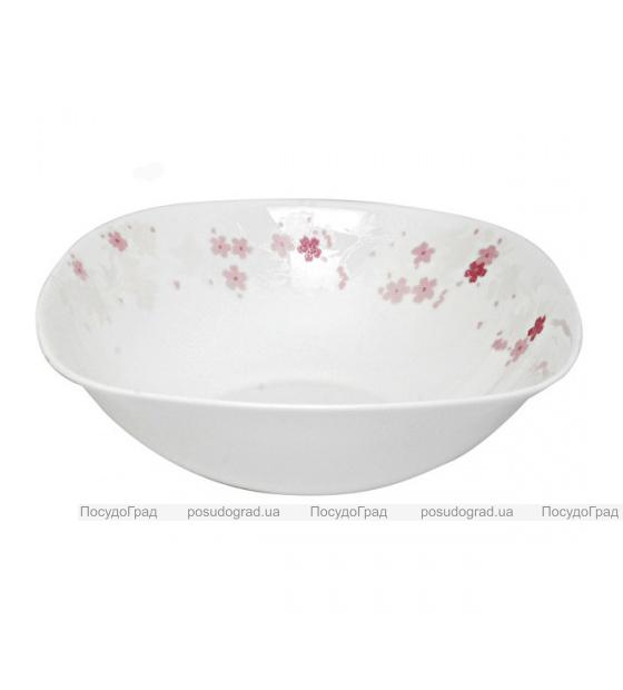 """Набор 6 салатников """"Цветы сакуры"""" Ø16.5см, стеклокерамика"""