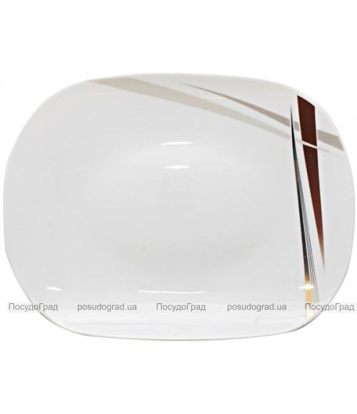 "Блюдо ""Элеганс"" Ø35см, стеклокерамика"