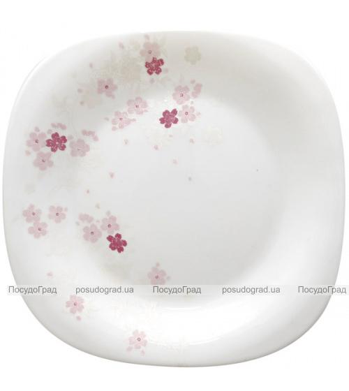 "Блюдо ""Цветы сакуры"" 35см, стеклокерамика"