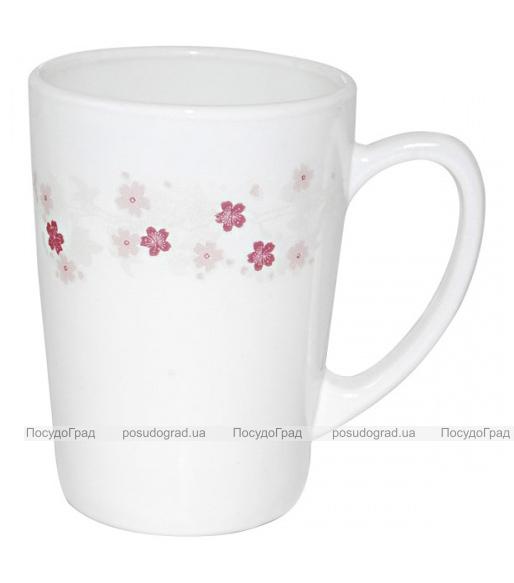 "Кружка ""Цветы сакуры"" 350мл, стеклокерамика"
