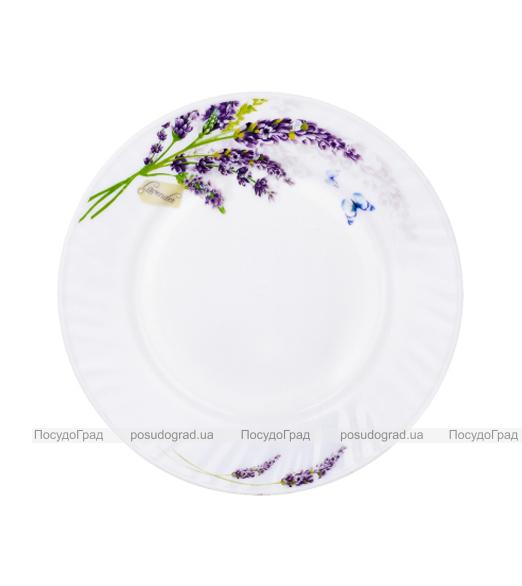 "Набор 6 десертных тарелок ""Лаванда"" Ø17.5см, стеклокерамика"
