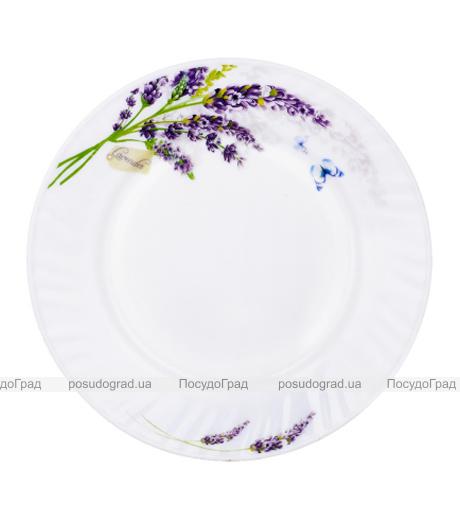 "Набор 6 обеденных тарелок ""Лаванда"" Ø20см, стеклокерамика"