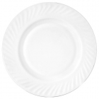 Набор 6 тарелок обеденных White Waves Ø20.5см, стеклокерамика