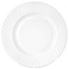 Набір 6 тарілок обідніх White Waves Ø20.5см, склокераміка