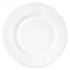 Набір 6 тарілок десертних White Waves Ø17.5см, склокераміка