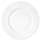 Набор 6 тарелок десертных White Waves Ø17.5см, стеклокерамика