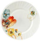"""Набор 6 обеденных тарелок """"Радужный мак"""" Ø22.5см, стеклокерамика"""