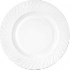 Набор 6 тарелок обеденных White Waves Ø23см, стеклокерамика