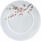"""Набір 6 обідніх тарілок """"Японська Вишня"""" Ø23см, склокераміка"""
