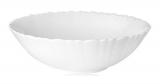 Набор 6 салатников Infinite Tenderness Волна белый Ø15см, стеклокерамика