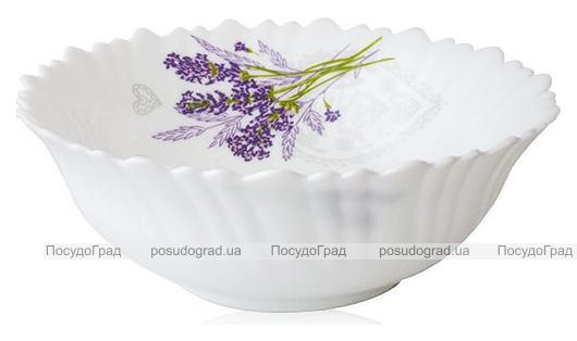Набор 6 салатников «Лавандовый сад» 15см, стеклокерамика