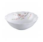 "Набор 4 салатника ""Японская Вишня"" Ø15см, стеклокерамика"