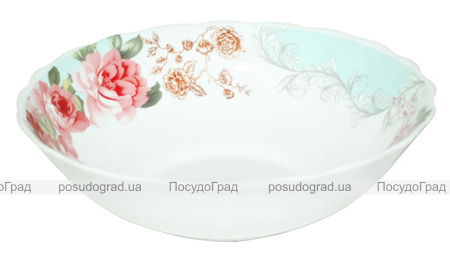"""Набір 6 салатників """"Версаль Троянди"""" Ø17.5см, склокераміка"""
