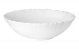 Набор 6 салатников Infinite Tenderness Волна белый Ø17.5см, стеклокерамика