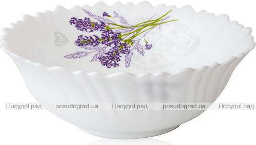 Набір 6 салатників «Лавандовий сад» 17.5см, склокераміка