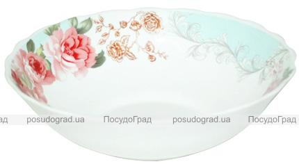"""Набір 6 салатників """"Версаль Троянди"""" Ø20.5см, склокераміка"""