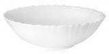 Набір 6 салатників Infinite Tenderness Хвиля білий Ø20.5см, склокераміка