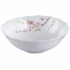 "Набор 4 салатника ""Японская Вишня"" Ø20см, стеклокерамика"
