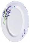 "Набір 2 блюда овальних ""Лаванда"" Ø35.5см, склокераміка"