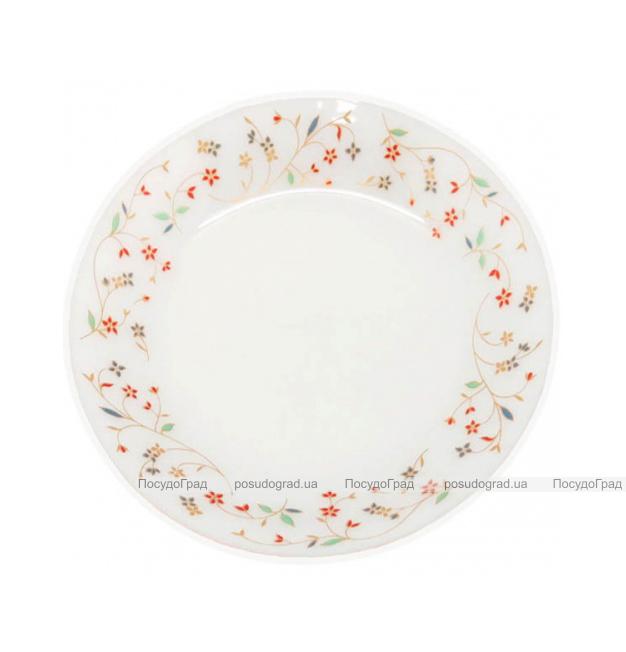 """Набор 6 десертных тарелок """"Маттиола"""" Ø18см, стеклокерамика"""