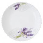 Набір десертних тарілок «Лавандовий сад» Ø17.5см, склокераміка